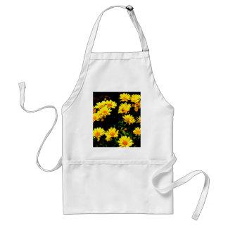 Avental Flores amarelas