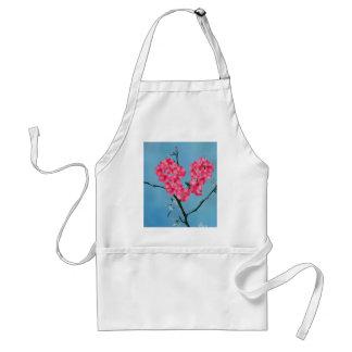 Avental Flores de florescência do coração