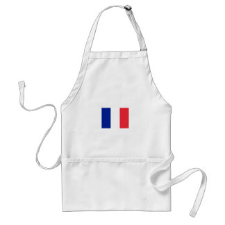 Avental francês da bandeira