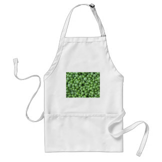 Avental Fundo da ervilha verde. Textura de ervilhas verdes