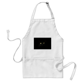 Avental Gato dos olhos de gato da opinião de gato preto