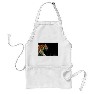 Avental Gato perigoso bonito da pele predadora do tigre