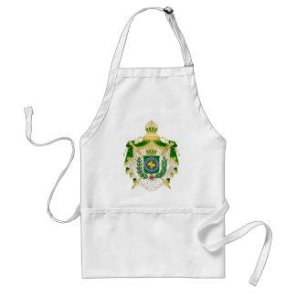 Avental Grandes Armas do Império do Brasil.