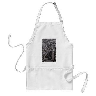 Avental Guerreiro da flor de cerejeira por Carter L