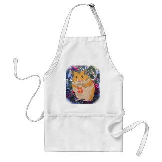 Avental Hamster do Natal que guardara um presente