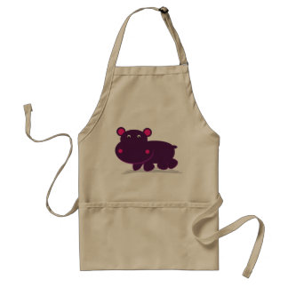 Avental Hipopótamo bonito