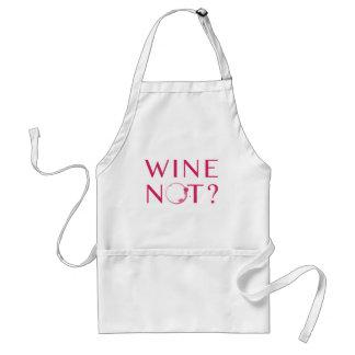 Avental Humor do amante de vinho do vinho não |