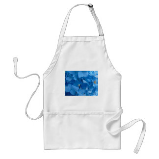 Avental Hydrangeas azuis