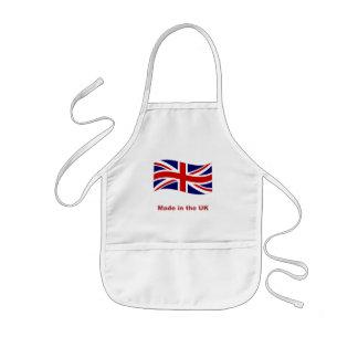 Avental Infantil A bandeira do jaque de união feita no Reino Unido