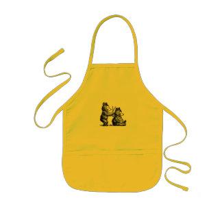 Avental Infantil Cabeleireiro agradável de Beary