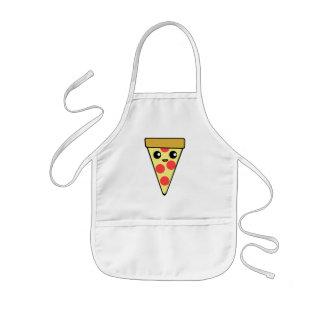 Avental Infantil Caráter bonito da pizza