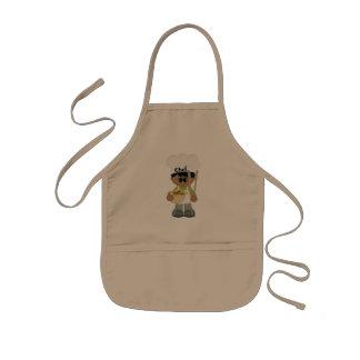 Avental Infantil Cozinheiro chefe de Little Boy