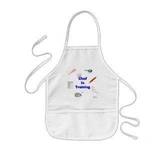 Avental Infantil Cozinheiro chefe no treinamento