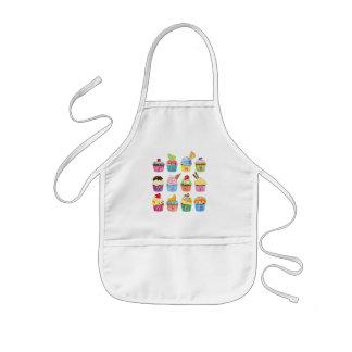 Avental Infantil Criar seus próprios deleites deliciosos do