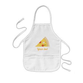 Avental Infantil Festa de aniversário da pizza