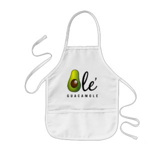 Avental Infantil Humor velho do abacate do Guacamole