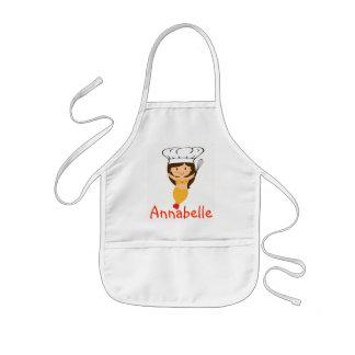Avental Infantil O cozinheiro chefe da sereia da abóbora