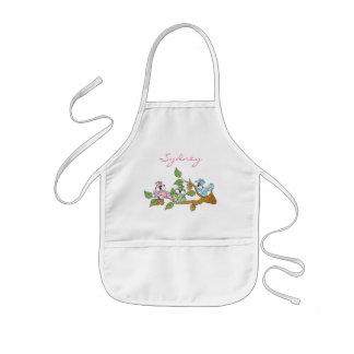 Avental Infantil O Pastel adorável colorido Squirrels | personaliza
