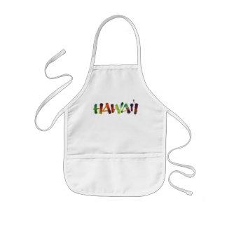 Avental Infantil Rotulação de Hawai'i - cozinheiro havaiano