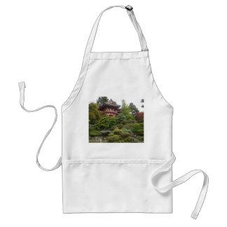 Avental japonês do jardim de chá de San Francisco