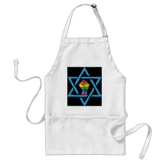 Avental Judaico preto alegre