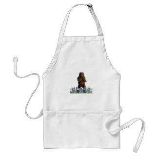 Avental Lançamento do urso
