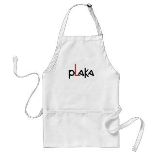 Avental Logotipo de Plaka