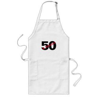 Avental Longo 50 e cozinheiro chefe fabuloso da festa de