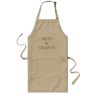 Avental Longo Artes & artesanatos
