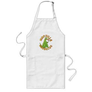 Avental Longo Desenhos animados do cozinheiro chefe do monstro