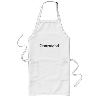 Avental longo do Gourmand