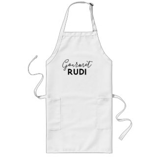 Avental Longo Enruga gourmet Rudi