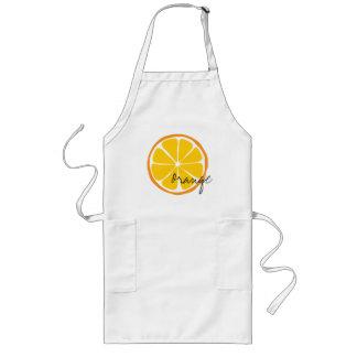 Avental Longo Laranja Arpon do citrino do verão