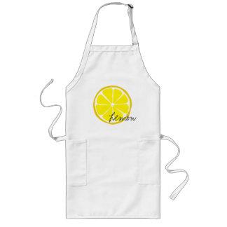 Avental Longo Limão Arpon do citrino do verão