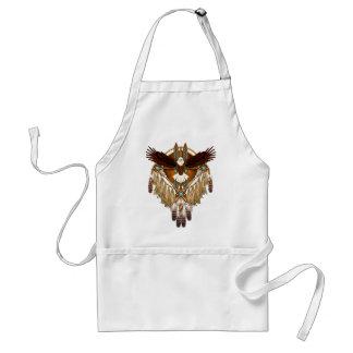 Avental Mandala da águia americana - revisada