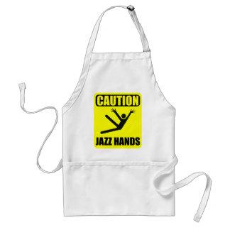 Avental Mãos do jazz do cuidado