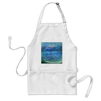 Avental Mar do oceano da escritura da arte do verso da