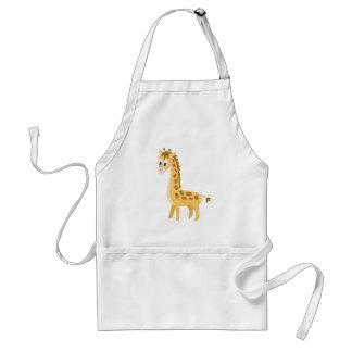 Avental Meu girafa pequeno