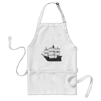 Avental Navio da vela