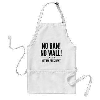 Avental Nenhuma proibição! Nenhuma parede!