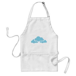 Avental Nuvens azuis