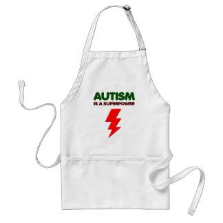 Avental O autismo é poder super, crianças, miúdos,