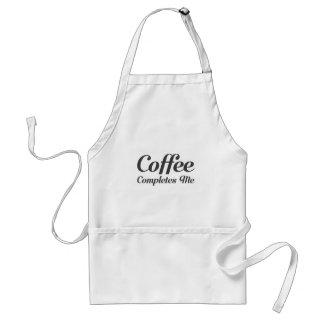 Avental O café termina-me