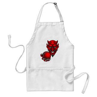 Avental O grilo do diabo ostenta a mascote