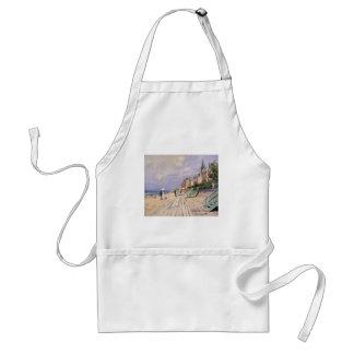 Avental O passeio à beira mar em Trouville Claude Monet