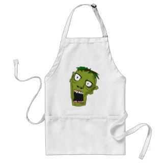 Avental O zombi o Dia das Bruxas inoperante assustador