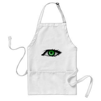 Avental Olho verde