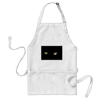 Avental Os olhos de gato preto