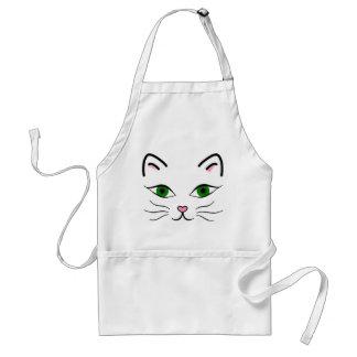 Avental padrão - cara do gatinho