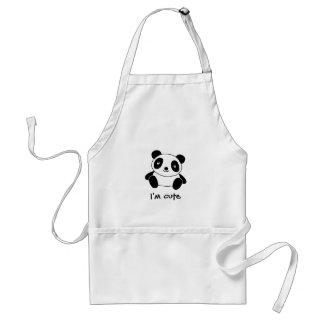 Avental Panda bonito